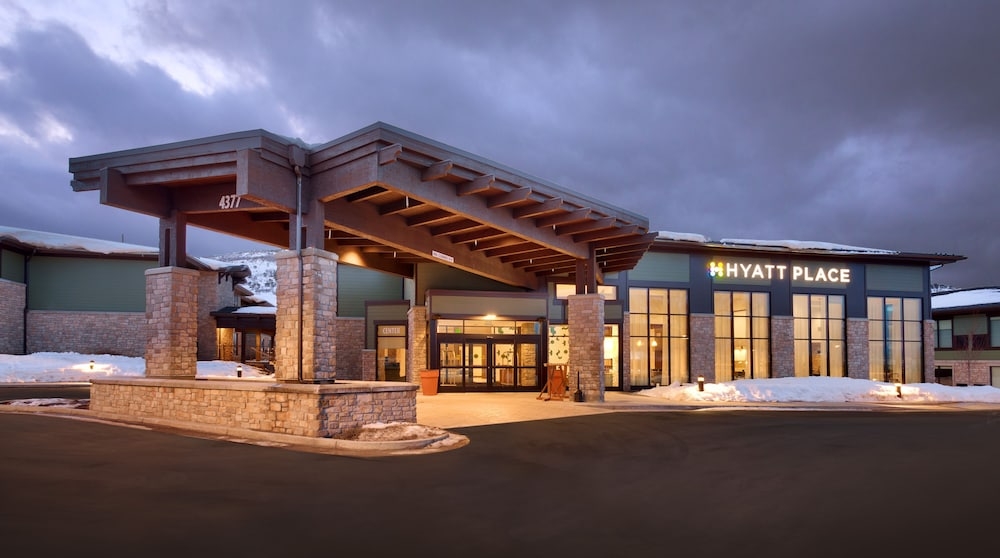 Front of Property - Evening/Night, Hyatt Place Park City
