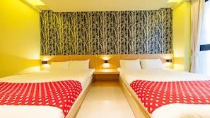 高級寢具、設計自成一格、隔音、免費 Wi-Fi