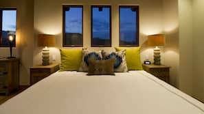 Premium bedding, iron/ironing board, free rollaway beds, free WiFi
