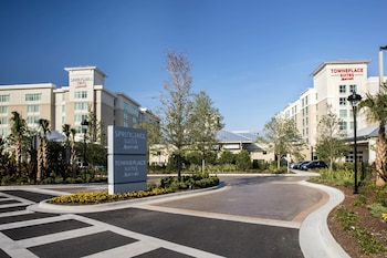 TownePlace Suites Orlando @ Flamingo Crossings West Entrance