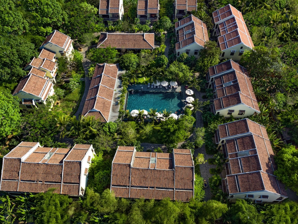 Aerial View, Silk Village Resort & Spa by Embrace