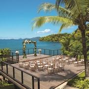 Zona para bodas al aire libre
