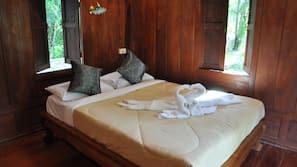 Een bureau, extra bedden