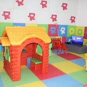 Lekeområde for barn - innendørs