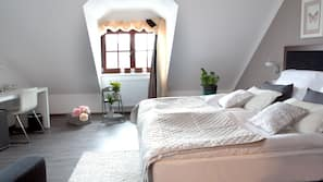Minibar, coffre-forts dans les chambres, lits bébé (gratuits)