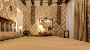 1 camera, biancheria in cotone egiziano