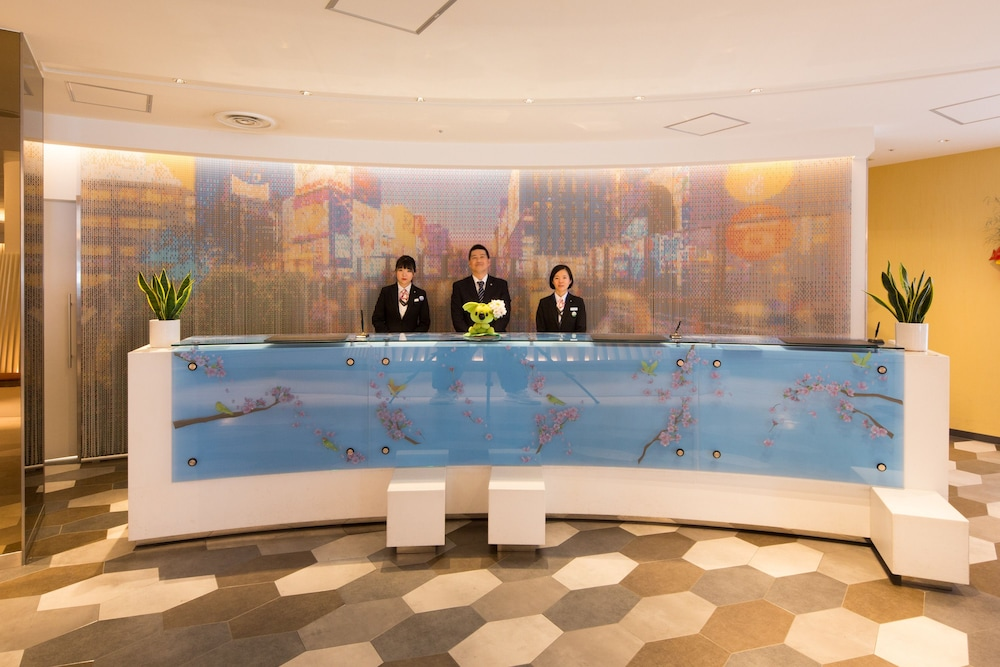 Reception,  Sotetsu Grand Fresa Osaka-Namba