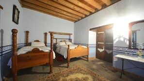 Premium bedding, blackout drapes, soundproofing, free WiFi