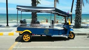 Beach nearby, free beach shuttle