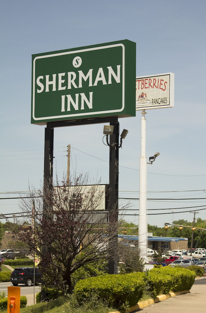 Front of Property, Sherman Inn