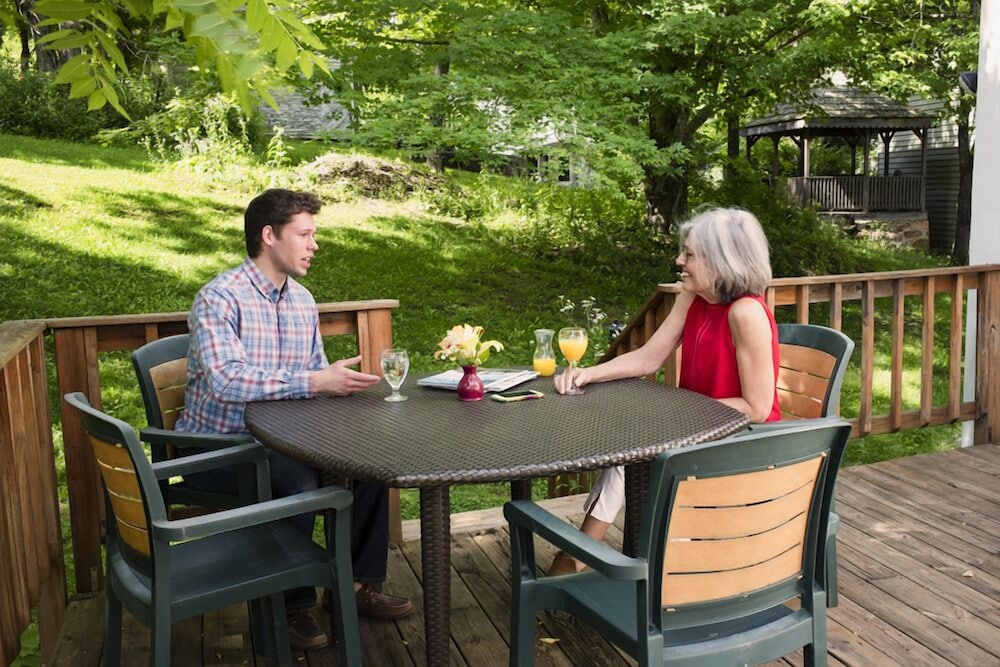 Terrace/Patio, The Inn at Gristmill Square