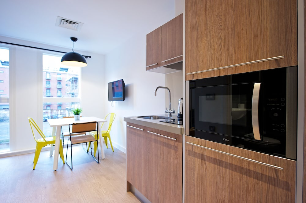 Private Kitchen, Staycity Aparthotels Birmingham Central Newhall Square