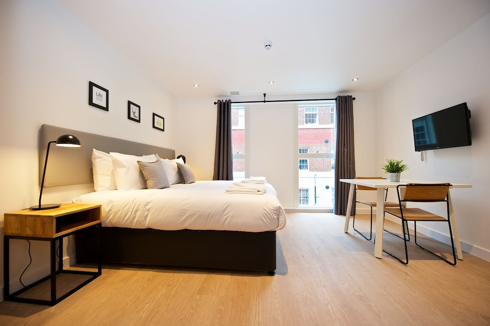 Room, Staycity Aparthotels Birmingham Central Newhall Square