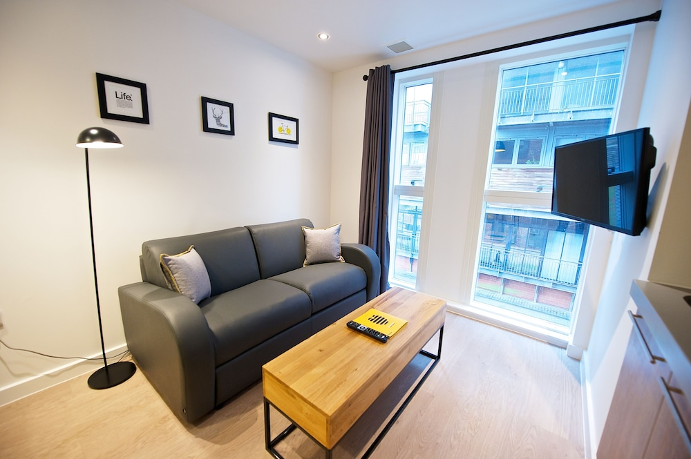 Living Area, Staycity Aparthotels Birmingham Central Newhall Square