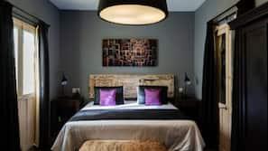 Ropa de cama de alta calidad, caja fuerte, sistema de insonorización