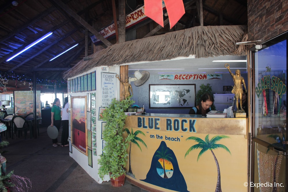 Reception, Blue Rock Beach Resort