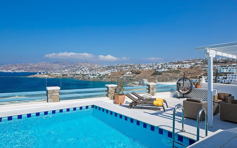 View from Room, Grand Beach Mykonos