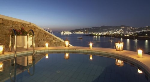 Outdoor Pool, Grand Beach Mykonos