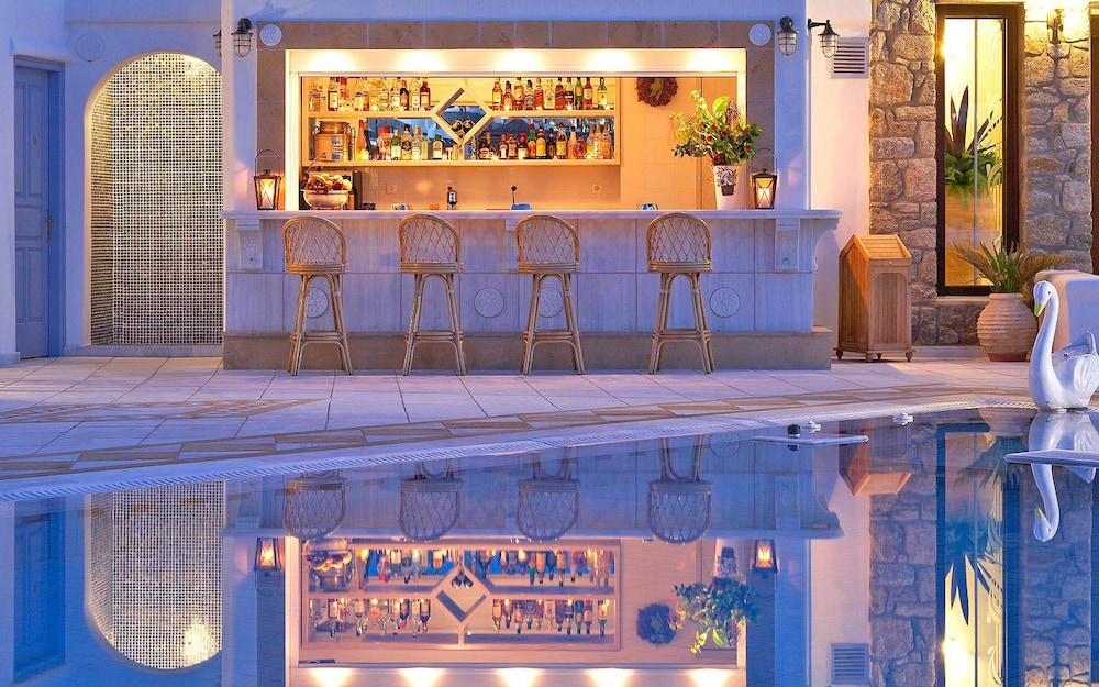 Poolside Bar, Grand Beach Mykonos