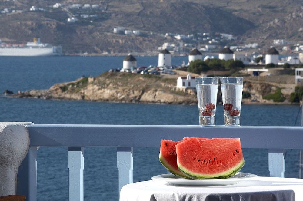 Balcony, Grand Beach Mykonos