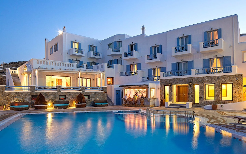 Front of Property, Grand Beach Mykonos