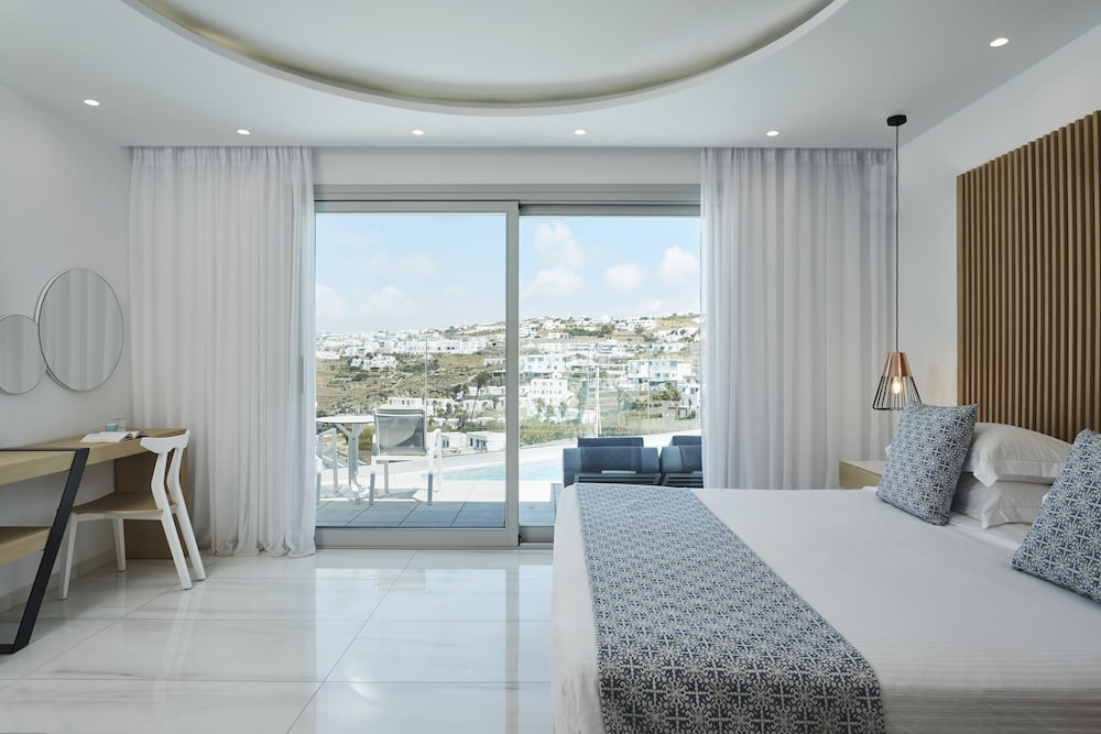Living Area, Grand Beach Mykonos