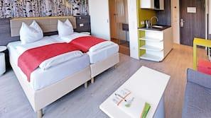 객실 내 금고, 책상, 무료 유아용 침대, 무료 유선 인터넷