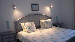 2 bedrooms, in-room safe, blackout curtains, iron/ironing board