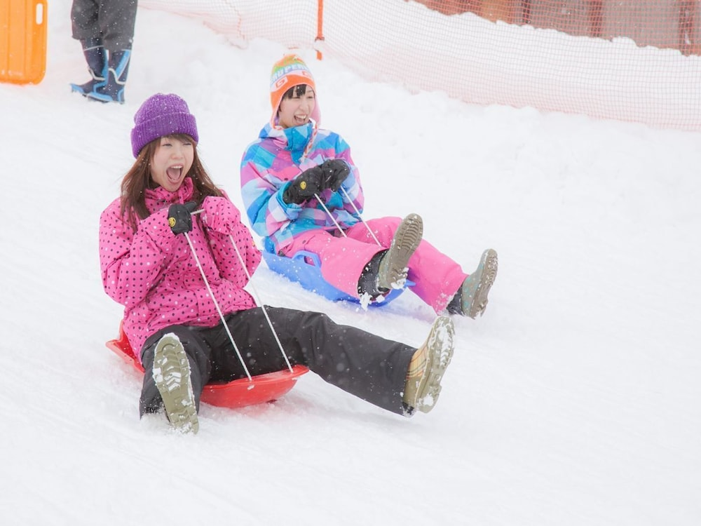 Sledding, Yuzawa Grand Hotel