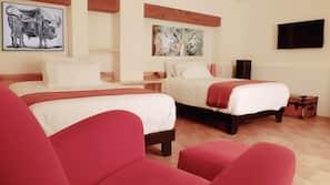 Ropa de cama de alta calidad, escritorio, camas supletorias