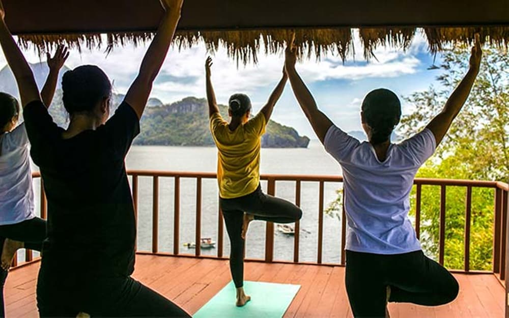 Yoga, Cauayan Island Resort