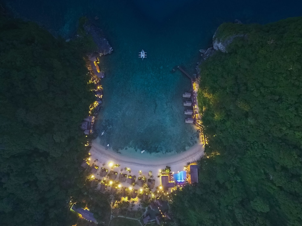 Aerial View, Cauayan Island Resort