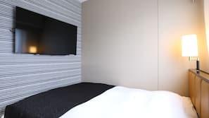 1 bedroom, desk, blackout drapes, free wired internet