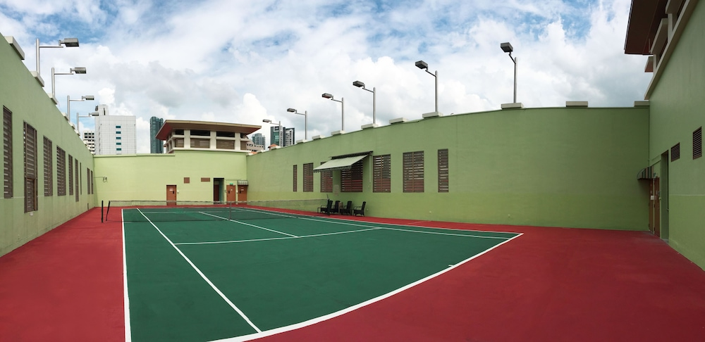Tennis Court, Treetops Executive Residences