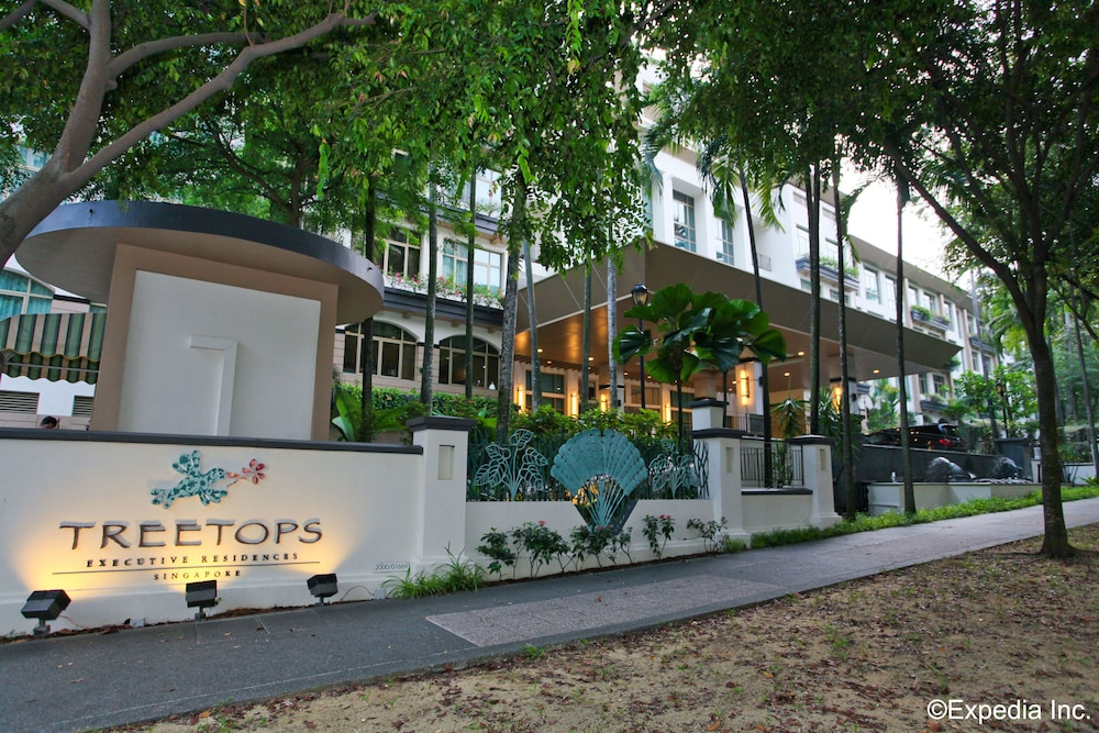 Property Entrance, Treetops Executive Residences