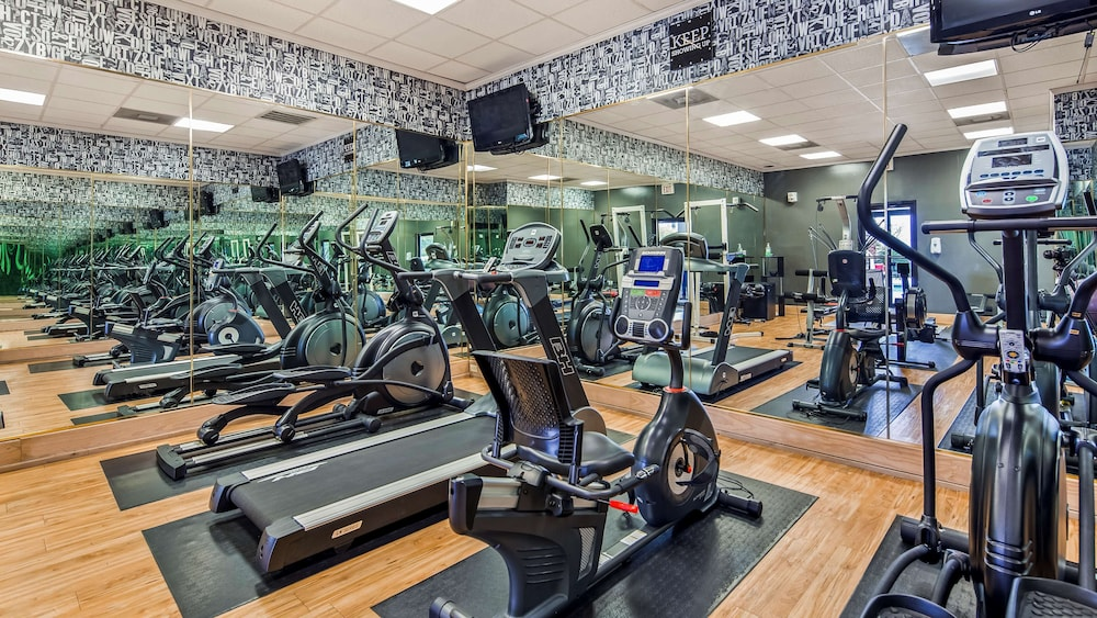 Fitness Facility, Magnolia Bluffs Casino Hotel, BW Premier Collection