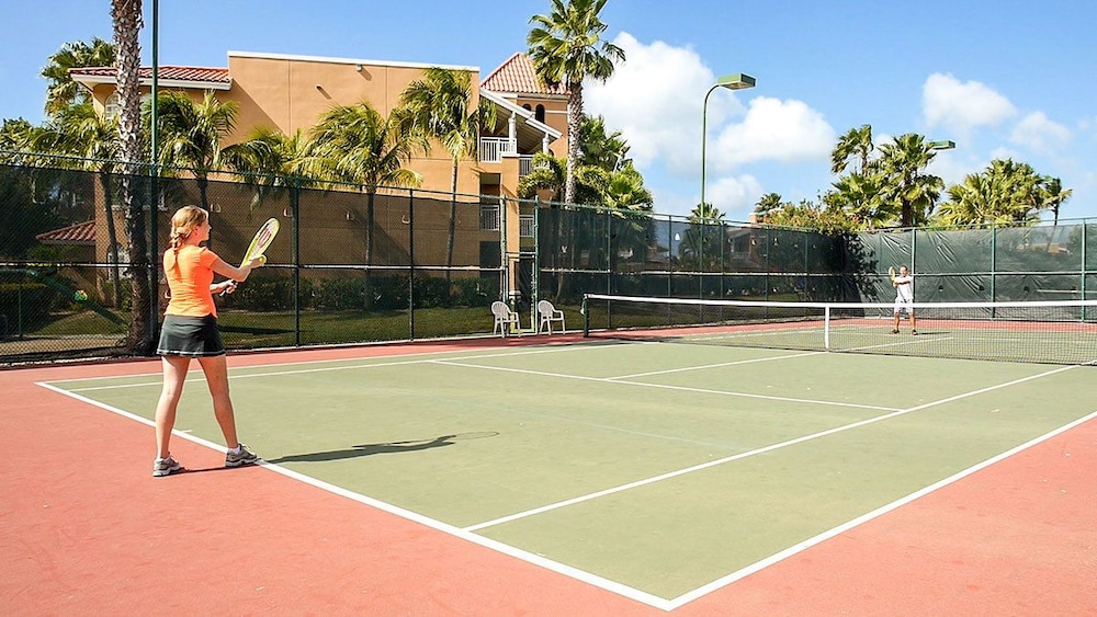 Tennis Court, Tropical Digs