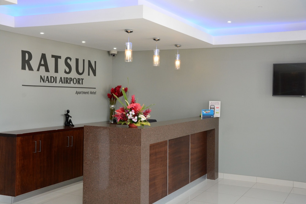 Reception, Ratsun Nadi Airport Apartment Hotel