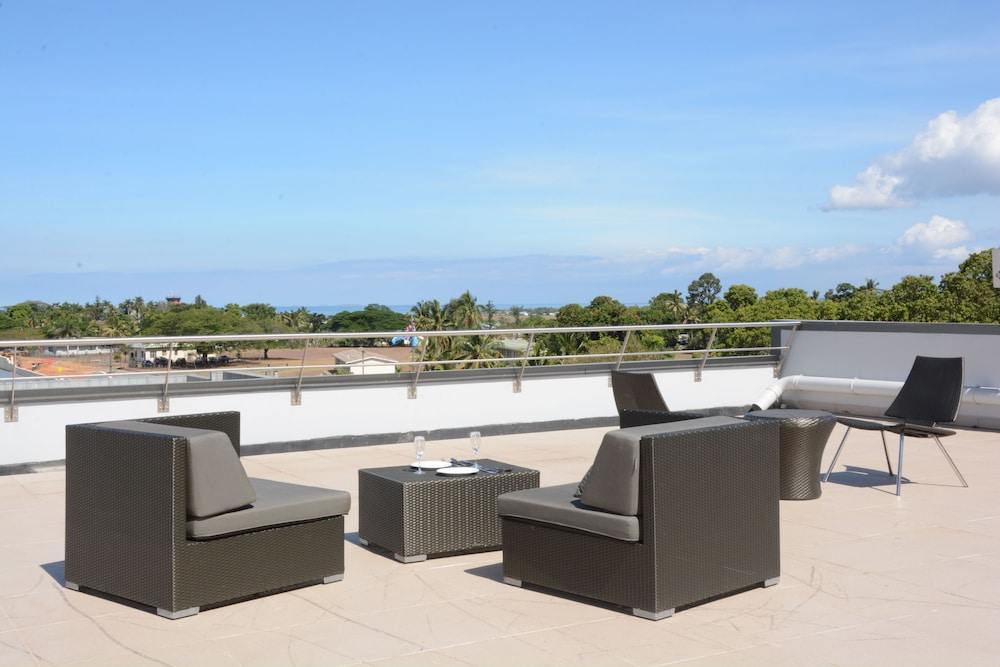 Terrace/Patio, Ratsun Nadi Airport Apartment Hotel