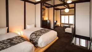 2 ห้องนอน, เครื่องนอนระดับพรีเมียม, ผ้านวมขนเป็ด