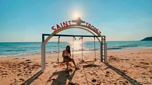 Am Strand, Cabañas (kostenlos)