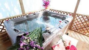 실내 스파 욕조