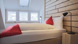 4 chambres, literie de qualité supérieure, fer et planche à repasser