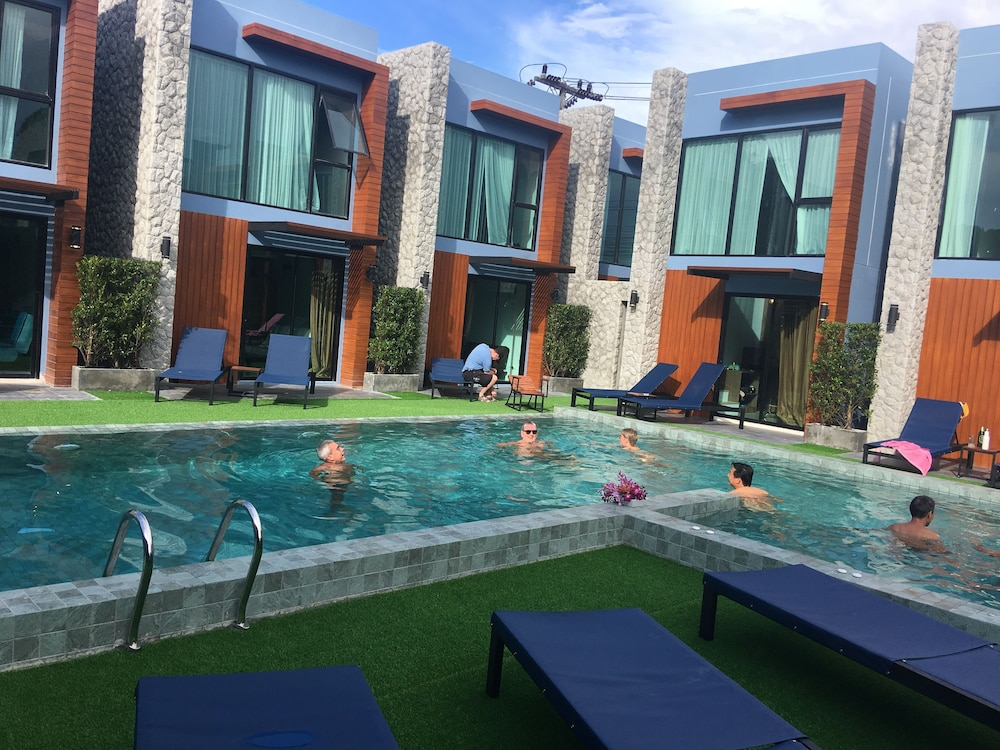 Outdoor Pool, Peace Blue Naiharn Naturist Resort Phuket