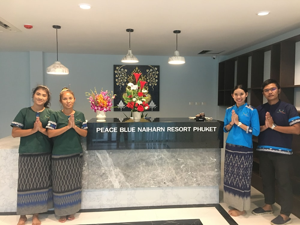 Reception, Peace Blue Naiharn Naturist Resort Phuket