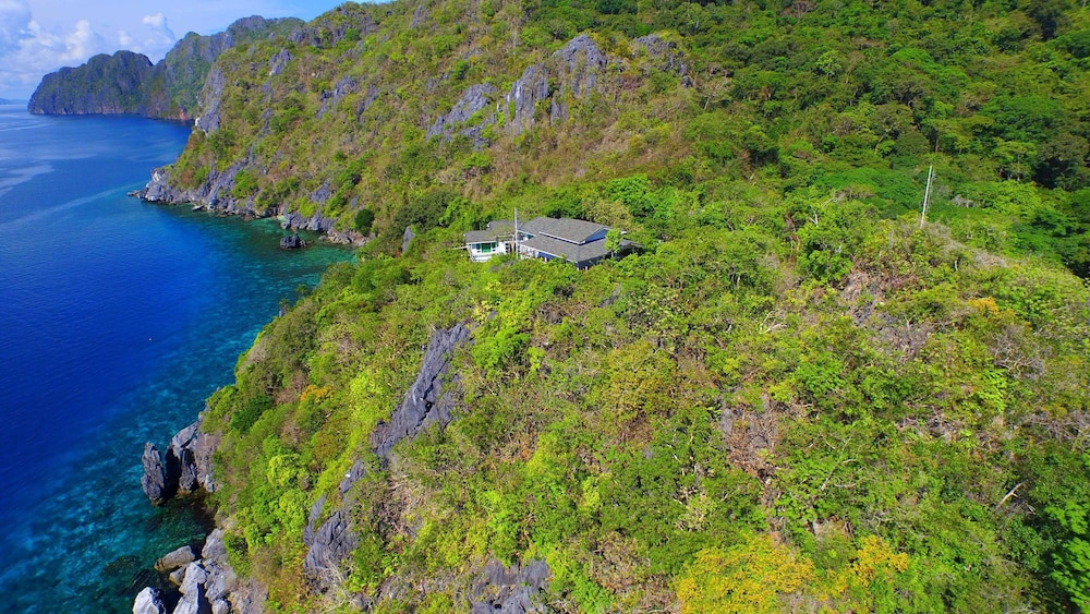 Aerial View, Matinloc Resort