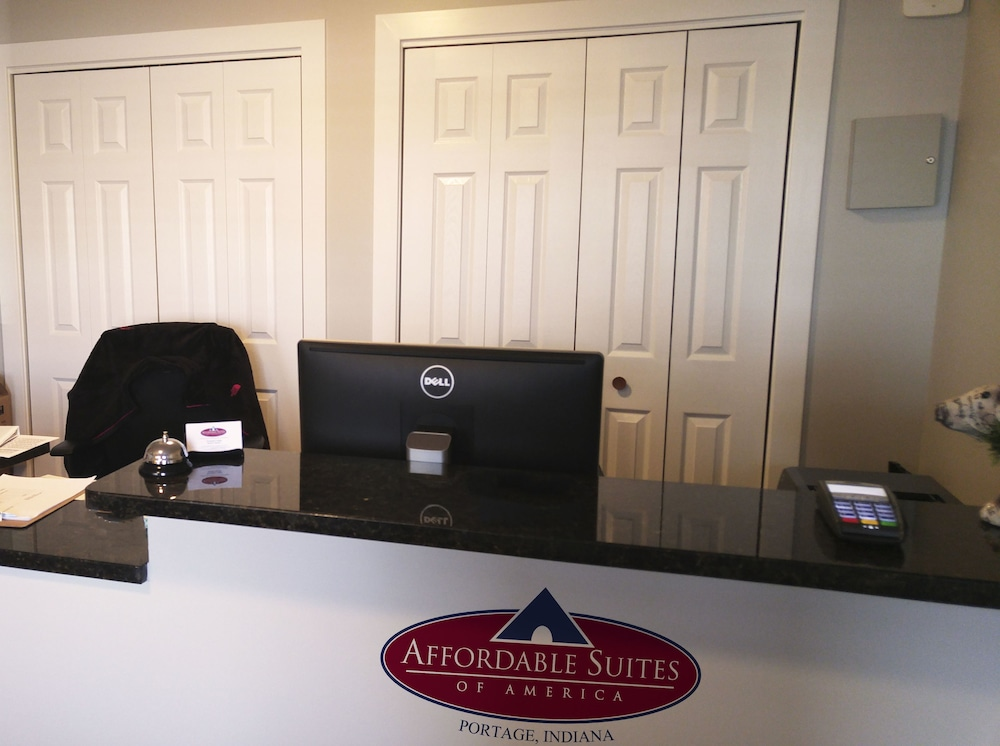 Reception, Affordable Suites of America Portage