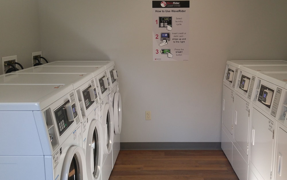 Laundry Room, Affordable Suites of America Portage