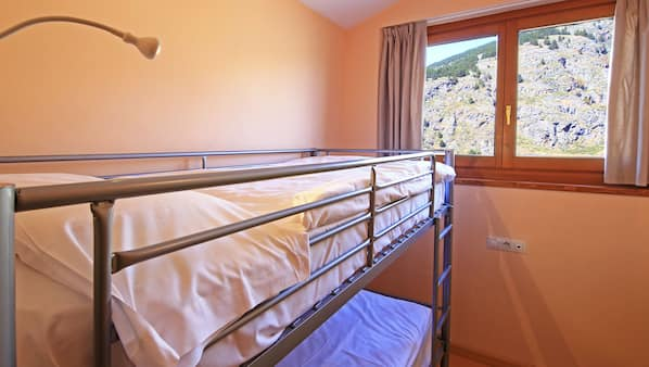 In-room safe, blackout curtains, iron/ironing board, bed sheets