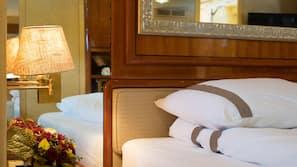 6 Schlafzimmer, Bettwäsche aus ägyptischer Baumwolle